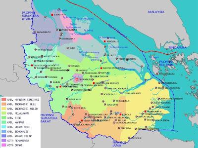Hasil gambar untuk Wilayah Perbatasan Kota Pekanbaru, Provinsi Riau, Indonesia