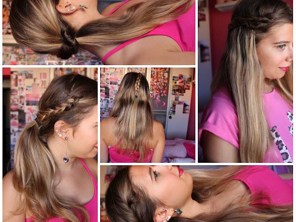 5 Penteados para o Regresso às aulas (Colaboração c/ See what I see, live what I live) ♥