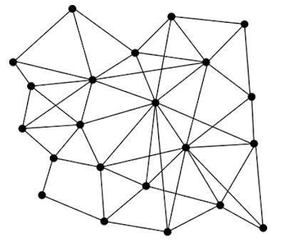 geometrische muursticker