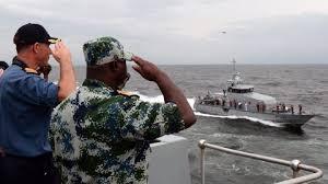 Nigeran Navy on Water
