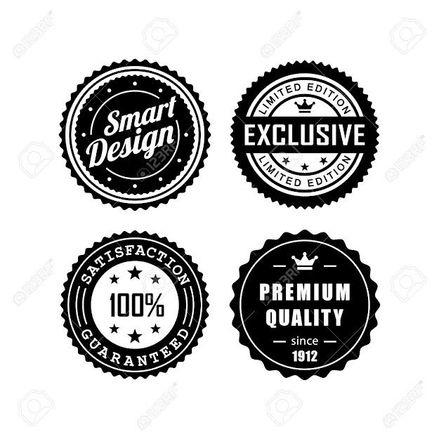 Vector  Vintage Badges Vector Design