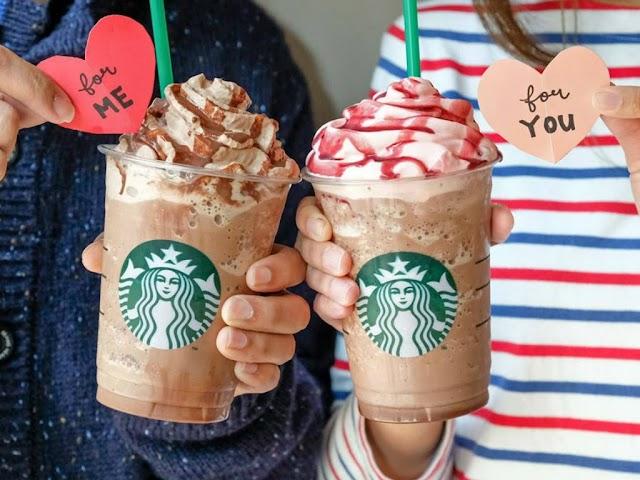 【情人節限定】香港Starbucks推出甜蜜蜜特飲系列