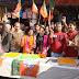 भाजपा की जीत पर पेठानगरी मे भाजपाइयो ने मिठाई बाँट कर मनाया जश्न