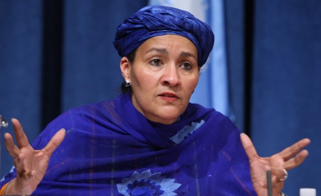 """""""FAREWELL NIGERIA…"""" AMINA MOHAMMED THANKS NIGERIANS AS SHE DEPARTS FOR THE UN"""