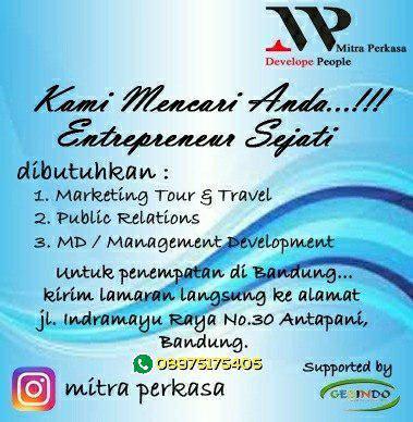 Lowongan Kerja Mitra Perkasa Bandung Juni 2018