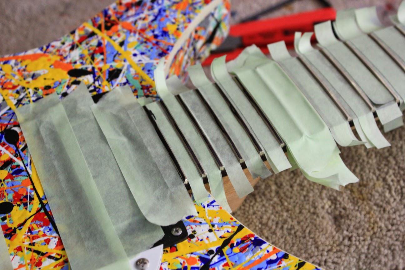 guitar kit builder stone roses tribute fret level and re dressing. Black Bedroom Furniture Sets. Home Design Ideas