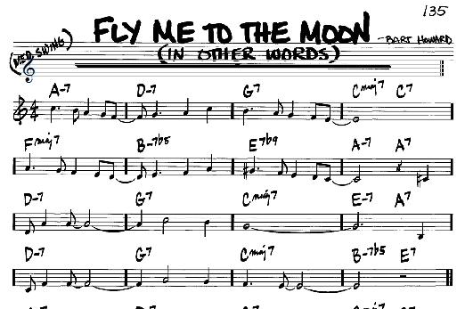 Fly Me to The Moon Chords | Nuansa Gitar