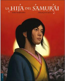 selección cuentos infantiles día del libro 2018 la hija del samurái