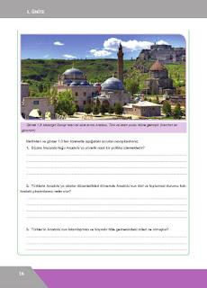 10. Sınıf Tarih Ders Kitabı Cevapları İlke Yayınları Sayfa 16