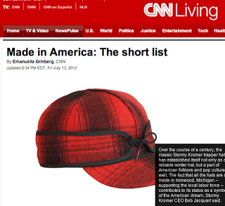 USA Love List was featured on CNN's short list of web resources for people who care about buying American