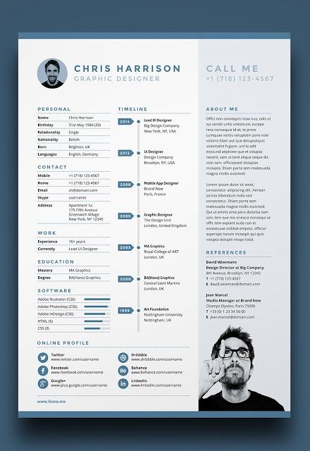 Contoh CV Unik Untuk Menarik Perhatian HRD