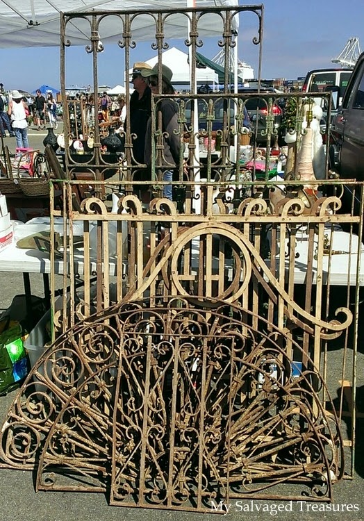 antique wrought iron salvage