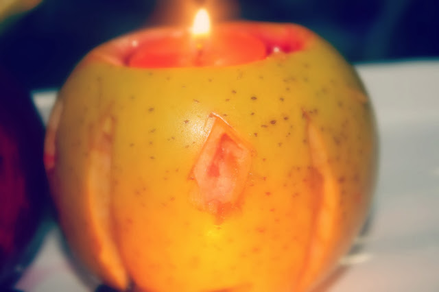 spooky fruit halloween trick or treat