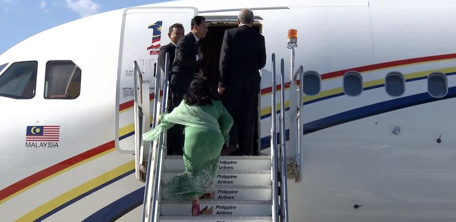 Rosmah Private Jet