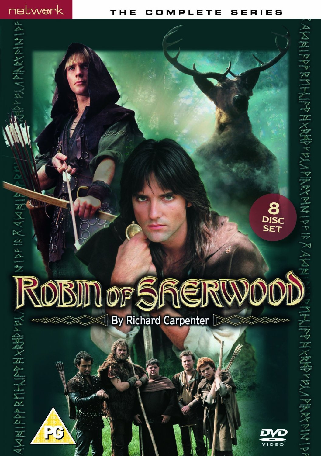 All Three Seasons Of The Original TV Series Are Available On DVD And Blu Ray From NETWORK Robin Sherwood