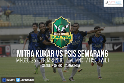 Live Streaming Mitra Kukar vs PSIS Semarang