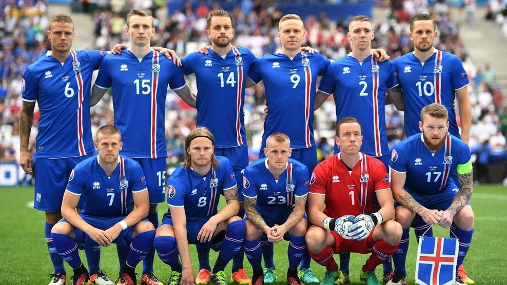 Information about Iceland Team 2018
