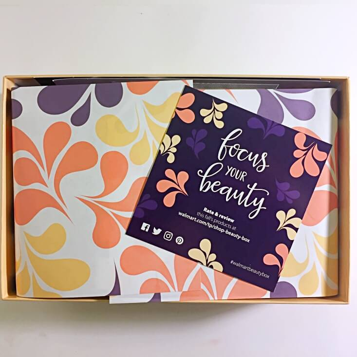 Walmart Beauty Box review Fall 2017