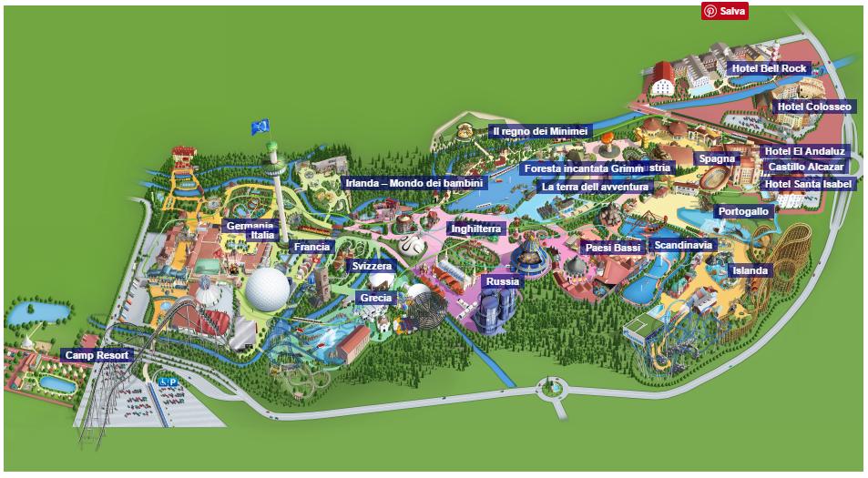 Cartina Europa Park.Europa Park 2017 Offerte Sconti E Promozioni