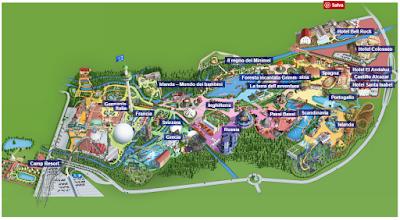 Mappa Europa Park