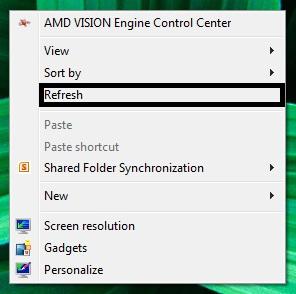 Fungsi dan Dampak Refresh pada Windows