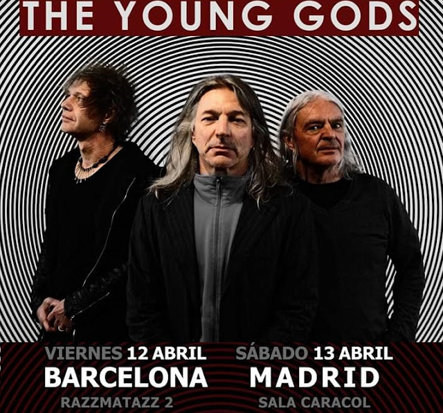 Gira The Young Gods en Barcelona y Madrid