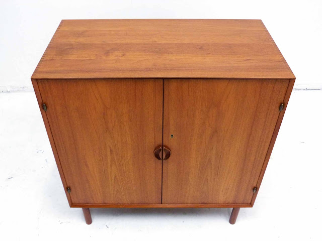 Danish Teak Cabinet by Peter Hivdt & Orla Molgaard Nielsen for Soborg Mobler Top