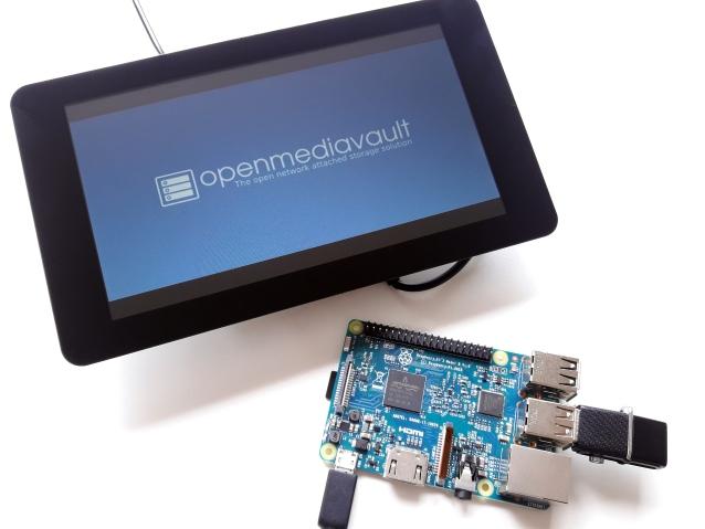 NAS com Raspberry Pi e Openmediavault