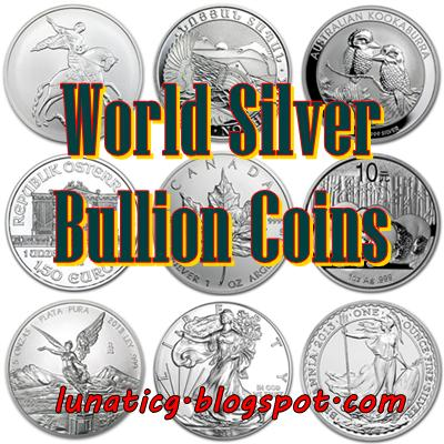 How Many Countries Have Silver Bullion Coin Lunaticg Coin