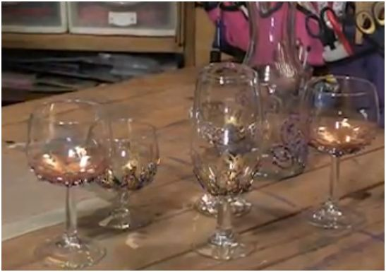 How To Make Beaded Wine Glasses And Charms The Beading