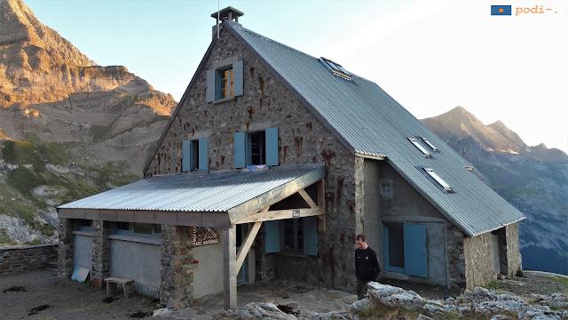 Gran Tour dels circs dels pirineus nord, refugi d'espiguettes