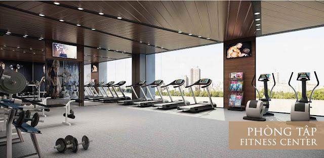 Phòng tập Gym tại Eco Lake View