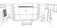 Furniture Interior Set Ruangan Kelas Kepolisian - Furniture Semarang