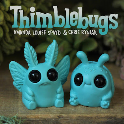 SDCC 2017 Exclusive Thimblebugs Weebeetle & Edison Resin Figures by Amanda Louise Spayd & Chris Ryniak