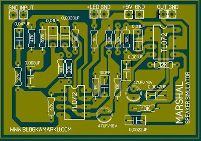 efek gitar listrik Untuk Uji suara – Amp simulator