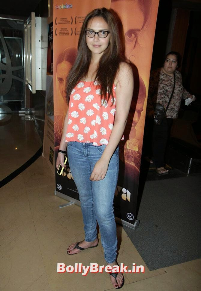 Esha deol, Esha Deol at Garm Hava screening