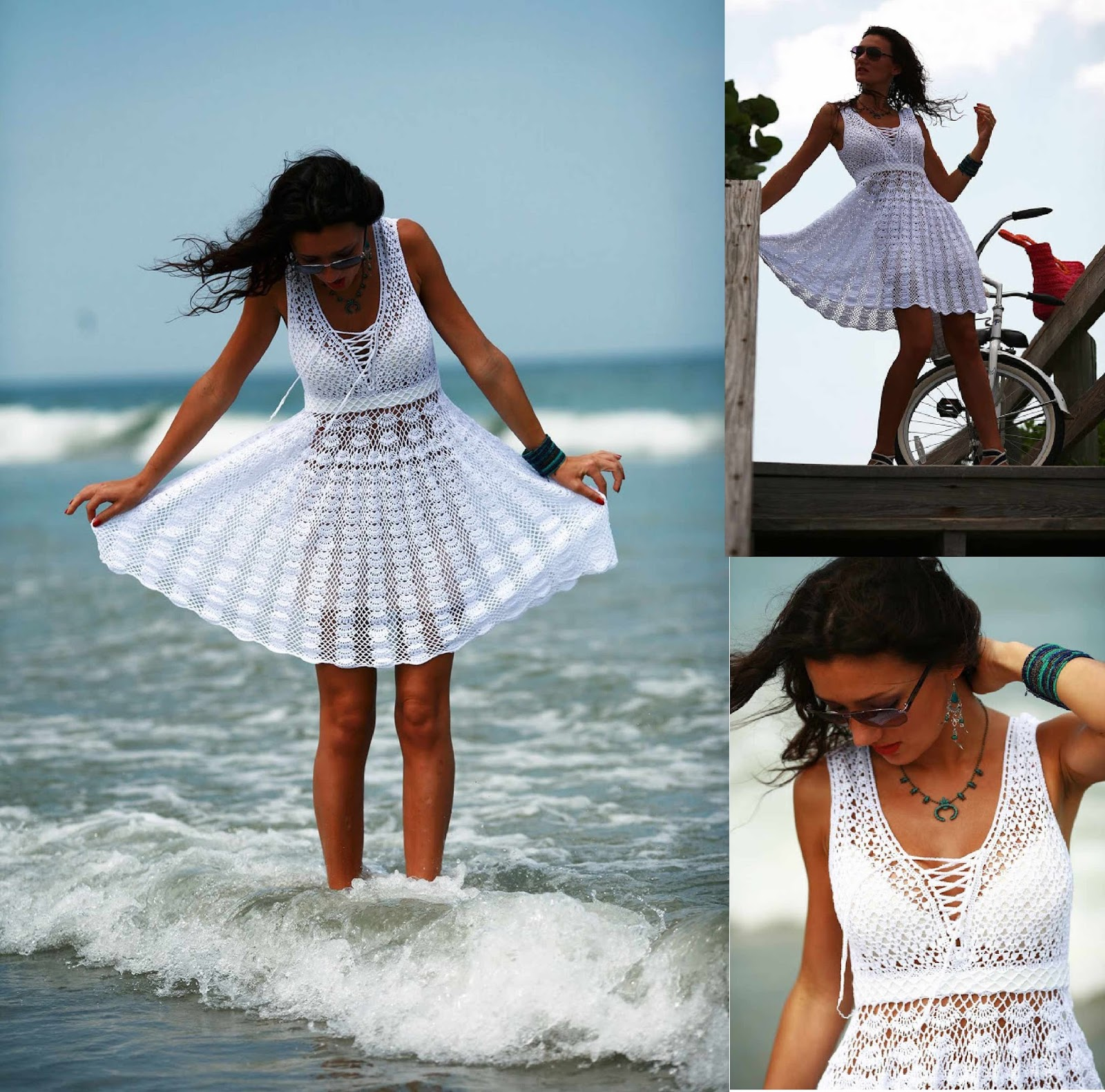 Free crochet patterns and video tutorials: How to crochet summer ...