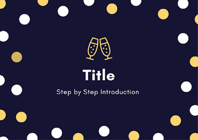 Step by Step Introduction to Title