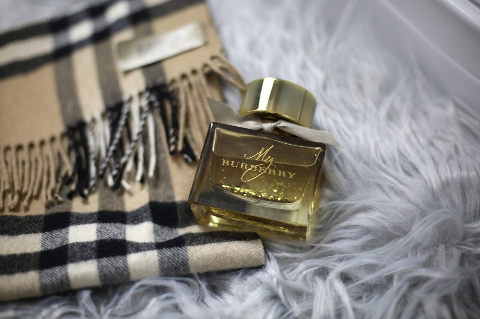 sparkly glitter my burberry perfume