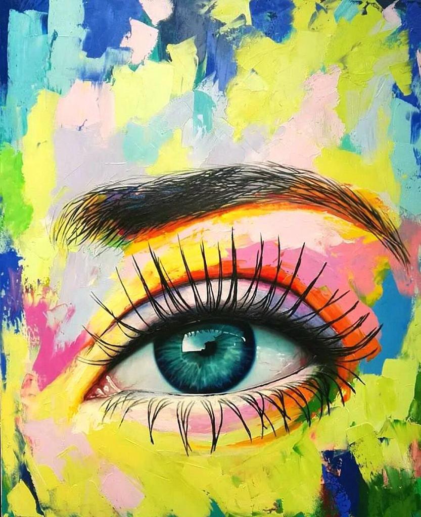Ojos de alma | Obras de arte contemporáneo colombiano