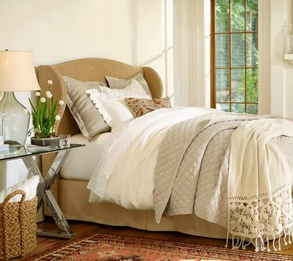 Vestir una cama con encanto por fin en casa - Cojines para cama matrimonio ...