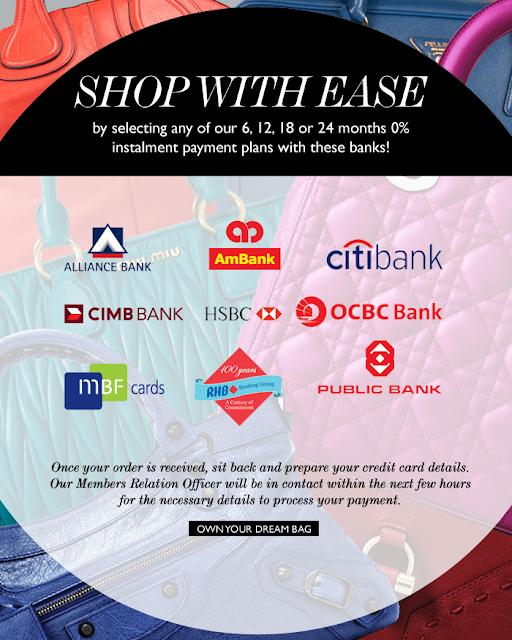 Reebonz instalment payment plans