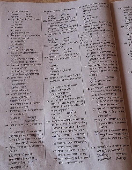Bihar Lok Seva Ayog Syllabus image 6