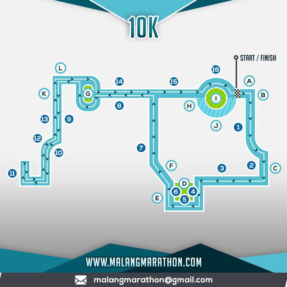 10K 👟 Malang Half Marathon • 2018