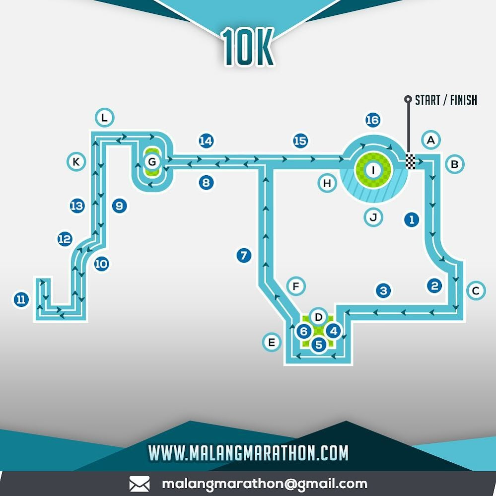 10K - Malang Half Marathon • 2018