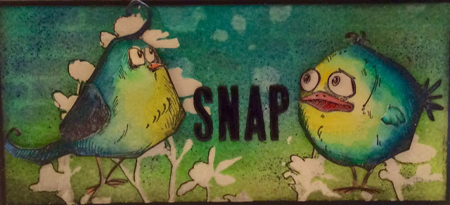 Bird Crazy Inktense pencils