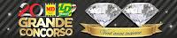 Logo ''20 Anni Insieme'' partecipa e vinci 1.000 premi e 2 diamanti da 1 carato