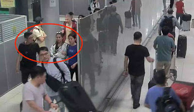 Detik-detik penculikan turis di bandara Bangkok