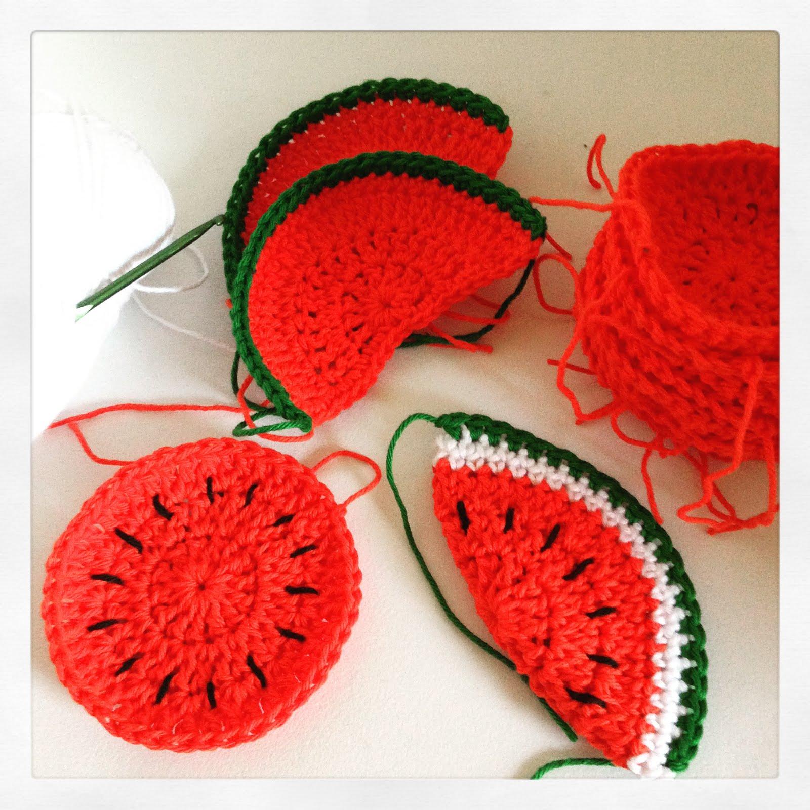 Meloenen Haken Crochet Melons Bees And Appletrees Bloglovin