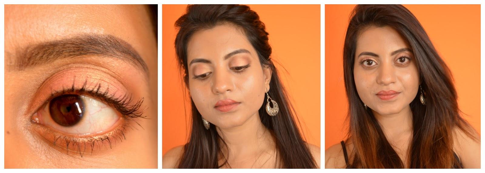 Makeup Revolution Ultra Brow Palette 'Medium to Dark' Review, Swatch, FOTD